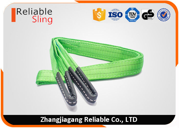 60mm 2 Ton Green Flat Webbing Sling With Safety Factor 7 times